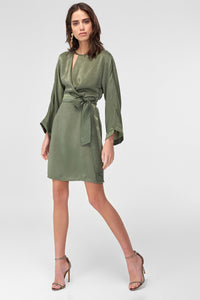 4510779 Green Belt Dress