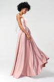1310215 Powder Strapless Gown
