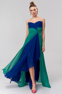 1310003 Blue-Green Sweetheart Dress