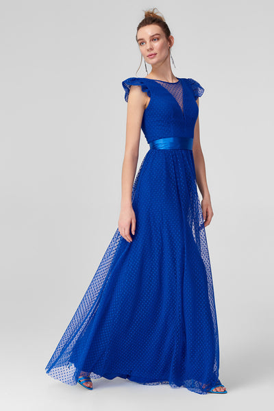1310709 Blue Tulle Dress