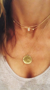Pave Initial, Star Choker & Good Vibes