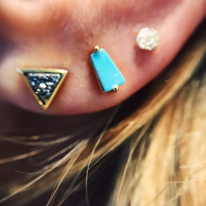 Lana Diamond Studs