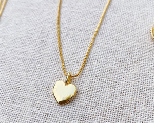 Heart Droplet Gold