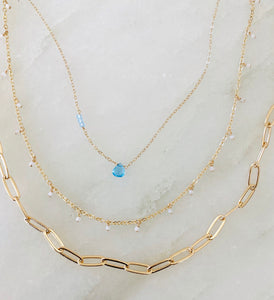 Gold *Plated Paperclip chain