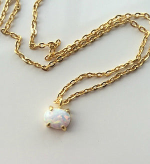 Micro Opalite Necklace