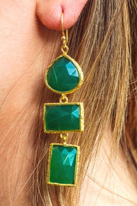 Athena Green Onyx on Model