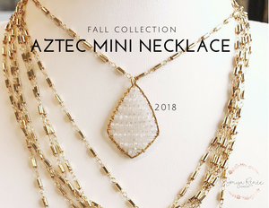 Aztec Posh Mini Necklace