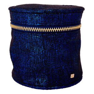 Cylinder Pouch in Blue