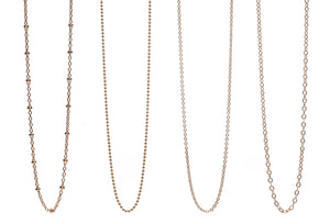 Silver or Gold Filled Chains