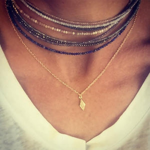 Hallie Mini Drusy Necklace