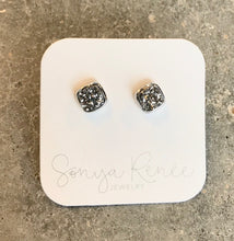 Lil Cushion Drusy Studs