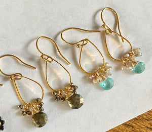 pyrite and blue apatite