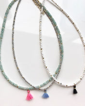 Micro Beaded Chokers With Baby Tassel