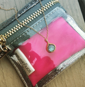 Mini Jewelry Pouch