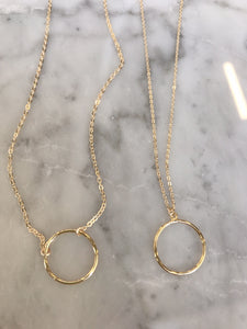 Open Loop Necklace