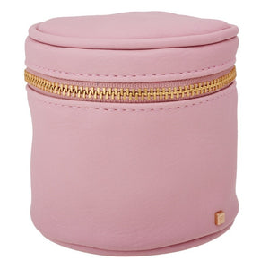Cylinder Pouch in Pink