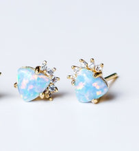 Brooklyn Mini Opalite Studs