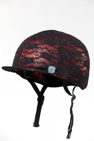 RED HELMET COVER