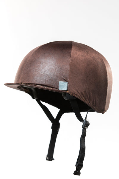 "BROWN HELMET COVER ""LIMITED EDITION"""
