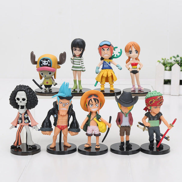 One Piece The Movie Collection Model