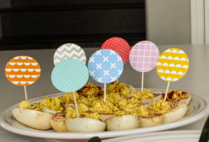 Spring HABD Cupcake/Food Toppers (14)