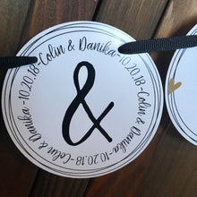 Mr. and Mrs. & Personalized - HABD Banner