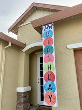 Happy Birthday - HABD Vinyl Banner