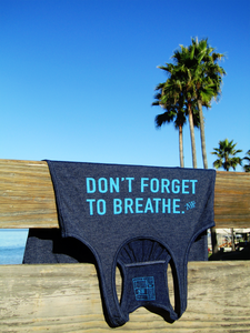 """Don't Forget to Breathe"" Self Talk Tank"