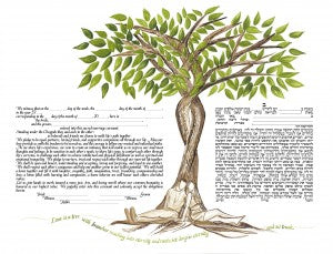 Our Tree of Life ketubah