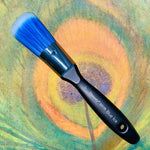 "Blue Ice Oval Long 1"" Brush - Michelle Nicole's ARTiSTiC ViVATiONS"