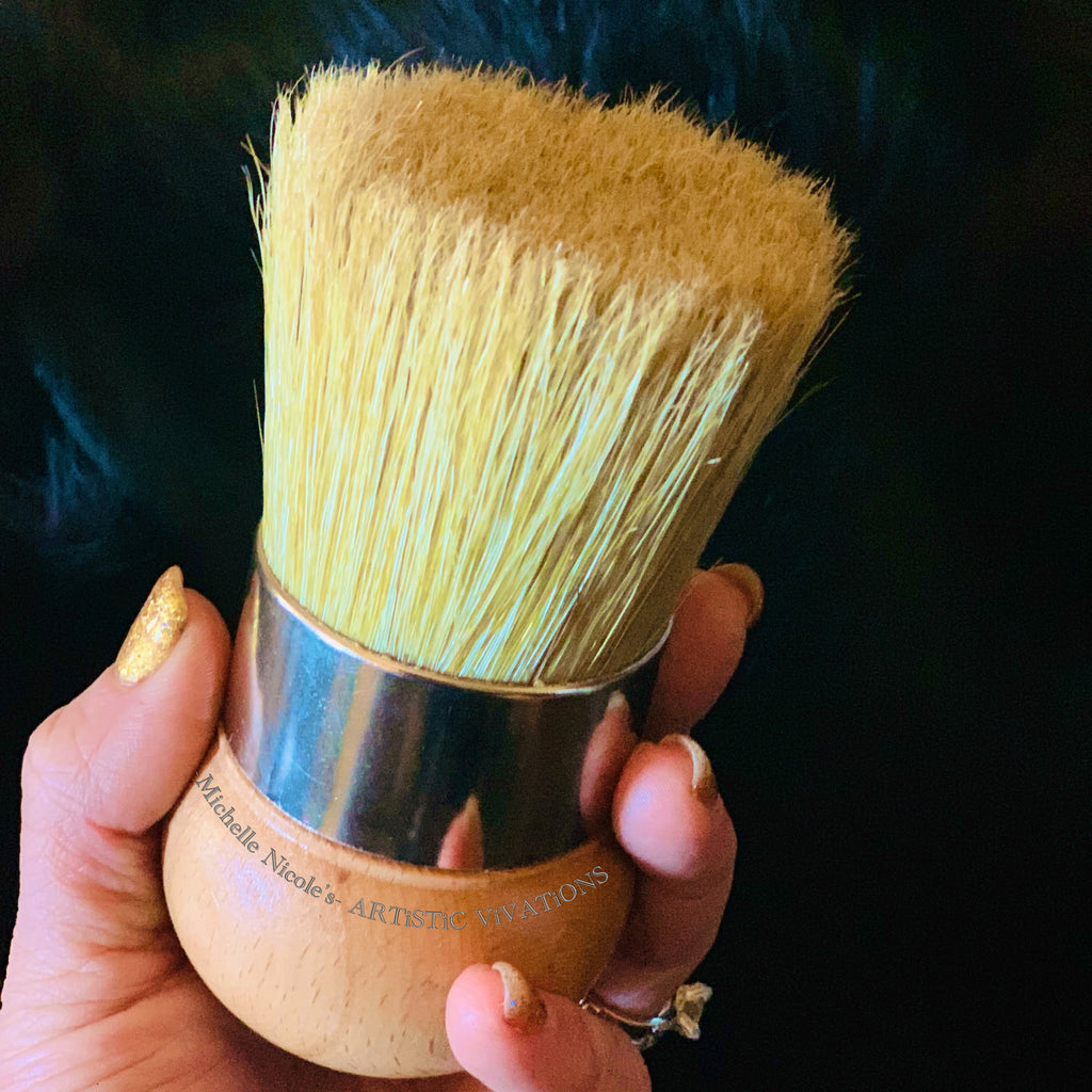 Palm Waxing Brush - Michelle Nicole's ARTiSTiC ViVATiONS