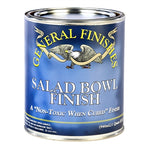 General Finishes Salad / Wood Bowl Finish Topcoat Quart - Michelle Nicole's ARTiSTiC ViVATiONS