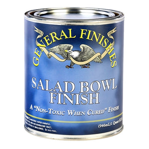 General Finishes Salad / Wood Bowl Finish Topcoat Pint - Michelle Nicole's ARTiSTiC ViVATiONS
