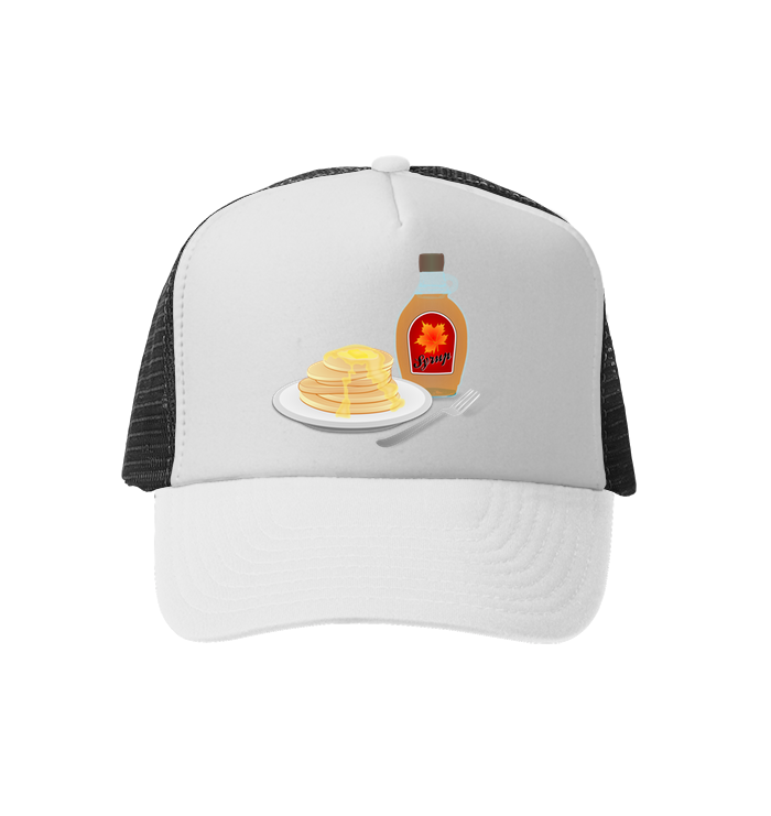 Pancake Hat with Syrup
