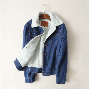 Women's Wool Denim Jacket
