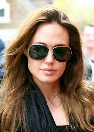 ray ban aviator celebrities angelina jolie