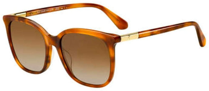 Kate Spade Caylin/S Sunglasses-(009QLA) Brown/Brown Gradient Polarized-54mm