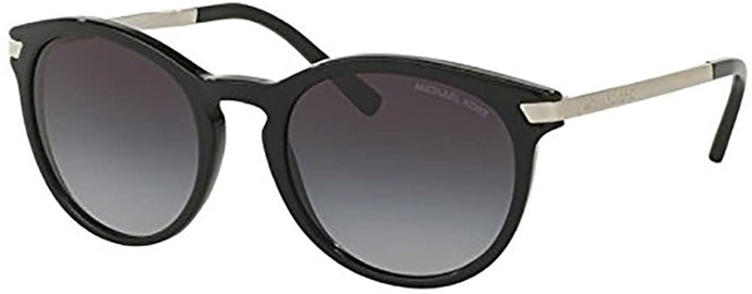 Michael Kors MK2023F Sunglasses 316311-53 - Black Frame, Light Grey Gradient