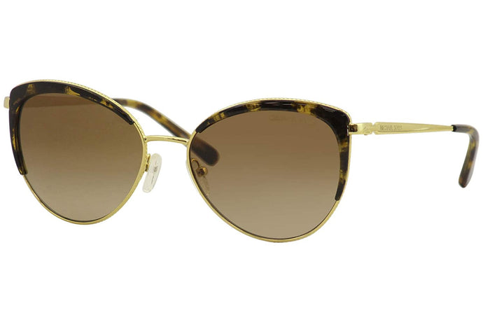 Michael Kors KEY BISCAYNE MK1046 Sunglasses 110013-56 -, Brown Gradient MK1046-110013-56