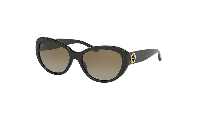 Tory Burch 0TY7136 170913 Solid/Black - Smoke Gradient Lenses 56MM