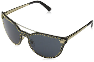 Versace Women's Rock Brow Bar Sunglasses