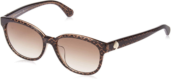 Kate Spade Emaleigh/F/S Sunglasses-(009QHA) Brown/Brown Gradient-55mm