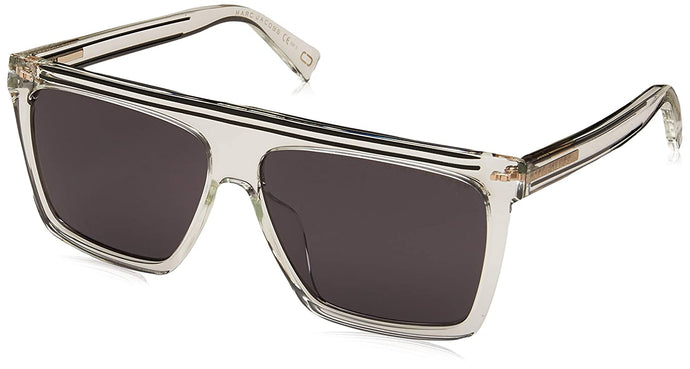 Marc Jacobs Women's Marc 322/G/S Crystal/Grey/Blue Polarized One Size