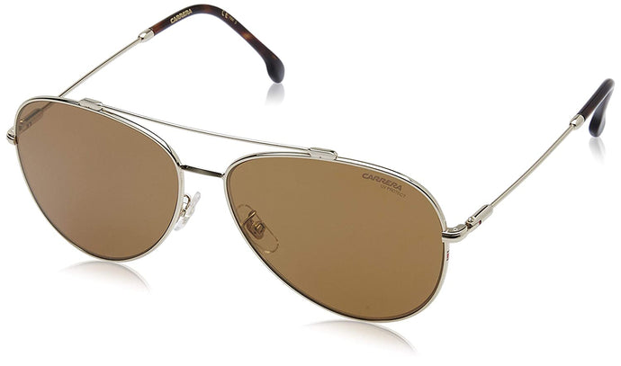 Carrera 183/F/S Sunglasses CA183FS-0J5G-K1-6214 - Gold Frame, Brown Gold Sp Lenses, Lens Diameter