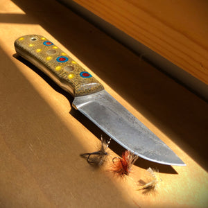 Appalachian brook trout Patch knife