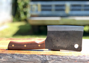6 inch Cleaver With Black Walnut and AEB-L Stainless