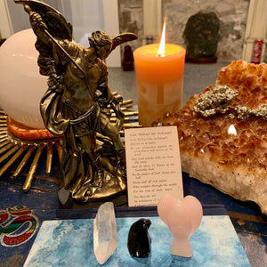 Crystals for Connecting to Saint Michael the Archangel