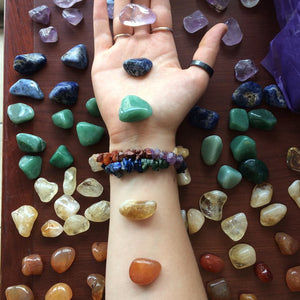 Happy Soul's Tumbled Crystal Chakra Sets