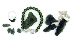 Moldavite for star children
