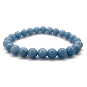 Angelite Crystal Bracelet - Happy Soul Online